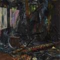 Erotischer-Brandherd-205-x-180-cm-2014-Acryl-auf-Nessel