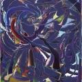 ARTAe 2019.  Arno Bojak, Sommerloch-160-x-140-cm-2018-Acryl-Nessel_web