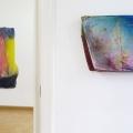 Ansicht Galerie ARTAe Leipzig. Enrico Niemann: Cross Section V und Bounding Box #9
