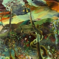 Brandenburg-deine-Naturwunder-Das-ungleiche-Paar-240-x-200-cm-Acryl-auf-Nessel