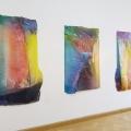 Ansicht Galerie ARTAe Leipzig, 2017, Enrico Niemann: Cross Section V, VI und IV