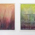 Ansicht Galerie ARTAe Leipzig, 2017. Enrico Niemann: Schieflage II und I