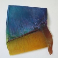 Galerie ARTAe Leipzig, 2019, Enrico Niemann: Wedge III, 2018, 70 x 120 x 10 cm