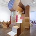 """Gaby Taplick, """"Tragflügel und horizontale Verkleidungen"""", 2014"""