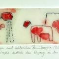 """Ina Hermann, Serie """"Stich für Stich"""", 19"""
